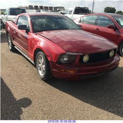 2008 - FORD MUSTANG // TEXAS REGISTRATION