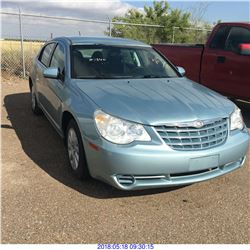 2009 - CHRYSLER SEBRING // TEXAS REGISTRATION