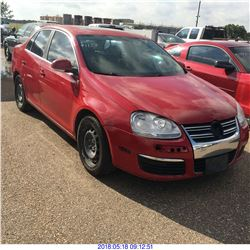 2008 - VOLKSWAGEN JETTA // REBUILT SALVAGE // TEXAS REGISTRATION