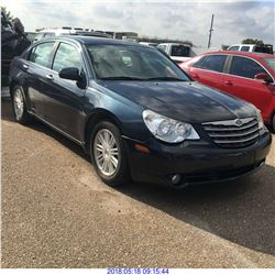 2007 - CHRYSLER SEBRING // TEXAS REGISTRATION