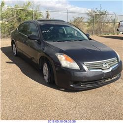 2007 - NISSAN ALTIMA // TEXAS REGISTRATION