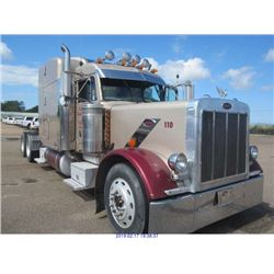2001 - PETERBILT 379 TRACTOR // TEXAS REGISTRATION