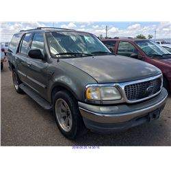 1999 - FORD EXPEDITION // TEXAS REGISTRATION