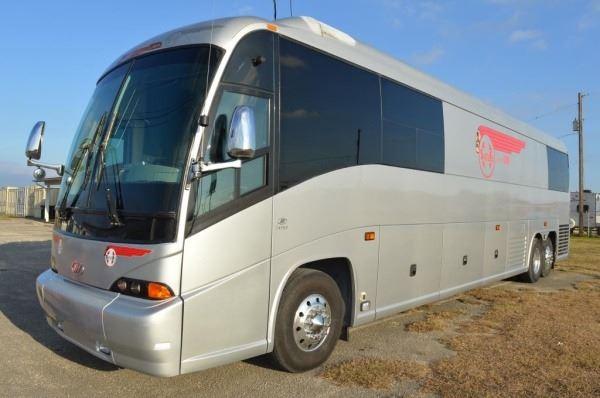 Merle Haggard's 2008 MCI J4500 Tour Bus