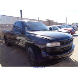 2001 - CHEVROLET 1500