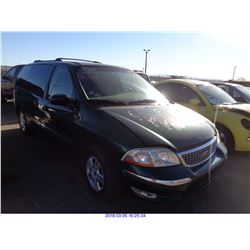 2001 - FORD WINDSTAR