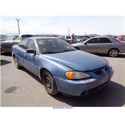 1999 - PONTIAC GRAND AM