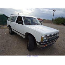 1992 - CHEVROLET S10 BLAZER