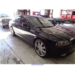 2005 - LINCOLN LS // SALVAGE TITLE