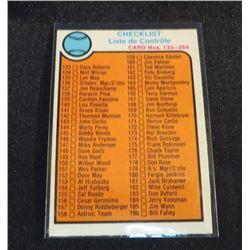 1973 O-Pee-Chee Baseball #264 Checklist 133-264