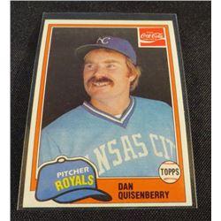 1981 Coke Team Sets #79 Dan Quisenberry