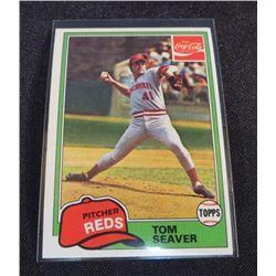 1981 Coke Team Sets #46 Tom Seaver