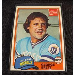 1981 Coke Team Sets #74 George Brett