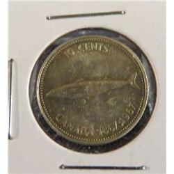 1967 Canadian Silver Centennial Dime