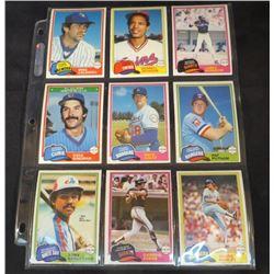 1981 OPC Baseball Lot Of 9 Cards