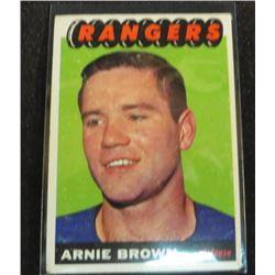 1965-66 Topps #90 Arnie Brown