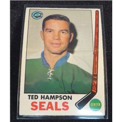 1969-70 O-Pee-Chee #86 Ted Hampson