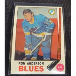 1969-70 O-Pee-Chee #14 Ron Anderson RC