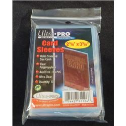 Ultra Pro Standard Card Sleeves Pack Of 100