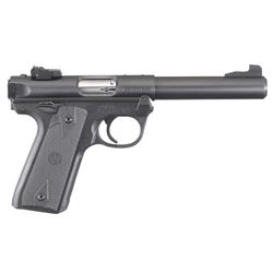 RUGER MARK IV TARGET 22 LR WITH TWO 10RD MAGS