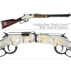 HENRY REPEATING ARMS GOLDENBOY EAGLE SCOUT EDITION 22 LR