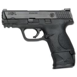 SMITH AND WESSON M& P9 COMPACT WITH  X GRIP ADAPTOR 9MM