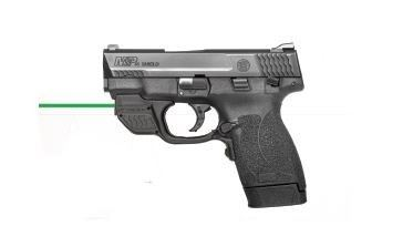 smith and wesson m& p45 shield 45 acp with crimson trace
