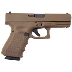 GLOCK G19 G4 FLAT DARK EARTH 9MM