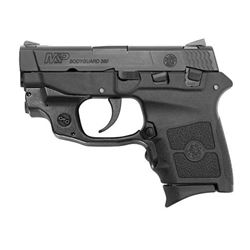 SMITH AND WESSON BODYGUARD 380 380 ACP WITH CRIMSON TRACE LASERGUARD