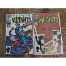 The New Mutants #26 and #40