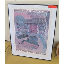 "Framed Art: ""Reflections of a Gracious Heritage"" (Honolulu Academy of Arts) Poster, 22X28"