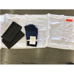 Williams Sonoma White Linen Table Runner (110X18), 6 Napkins JUST ADDED 2/9/18