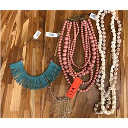Misc. Necklaces, 2 Shell Lei