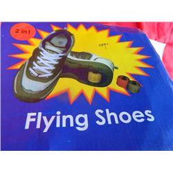 FLYING SHOES - SZ 6 ½ - has wheels on bottom