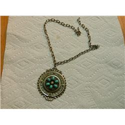 """NECKLACE - ON CHAIN - 2 ½"""" DIAMETER"""