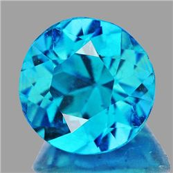 Natural  Brazil Blue Apatite 1.15 Ct {Flawless-VVS1}
