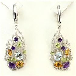 Stunning Natural Gemstone Earrings