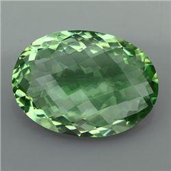Natural Healing Green Color Amethyst 21.05 Cts - VVS