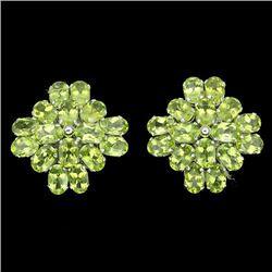 Natural Peridot 46 carats Earrings