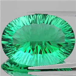 Natural Emerald Green Fluorite 38.76 Ct - FL