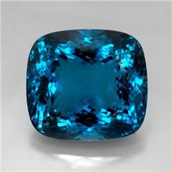 Natural London Blue Topaz 28.50 carats - VVS