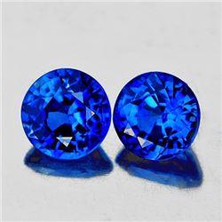 Natural Kashmir  Sapphire Pair 3.50 MM- VVS1