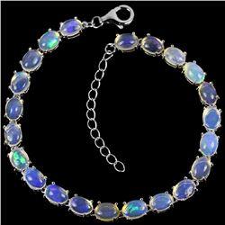 Natural White Opal 55 Carats Bracelet
