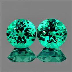Natural Paraiba Green Apatite 5.00 MM {Flawless-VVS1}