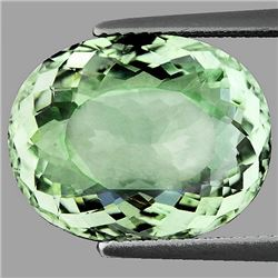 Natural Light Green Tea Amethyst 11.47 Carats - VVS