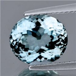 Natural Sky Blue Aquamarine 6.44 Cts - Flawless
