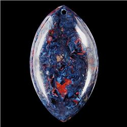Natural Pietersite Diamond Polished Pendant