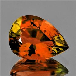 Natural AAA Vivid Orange Tourmaline 1.15 Ct - Flawless