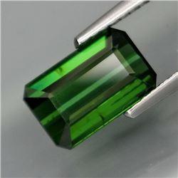 Natural Top Green Tourmaline  2.40 Cts