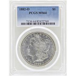 1882-O $1 Morgan Silver Dollar Coin PCGS MS64
